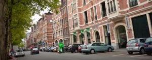 Bedden Boulevard Antwerpen Kloostertraat - Vlaamse Kaai
