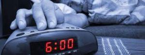 wekker met snooze